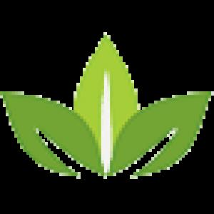 large Pocatello Simplot Credit Union leaf logo